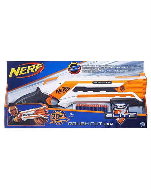 Nerf N-Strike Elite Rough Cut 2x4 A1691