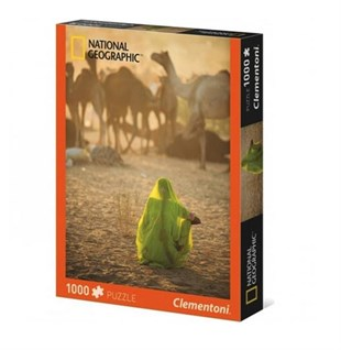 Clementoni 1000 Parça Puzzle Nat Geo - Indian Woman