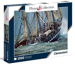 Clementoni 39350 French Ship-Plisson 1000 Parça Puzzle