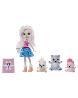 Enchantimals Aile Serisi Pristina Polar Bear GJX47