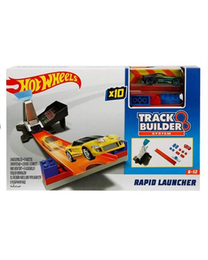 Hot Wheels Track Builder Yarış Seti Rapid Launcher DWW94