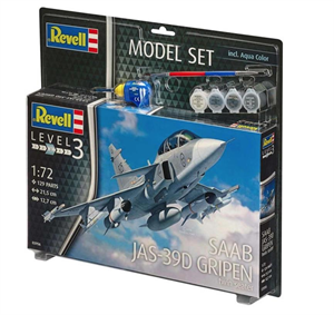 Revell Model Set Saab Jas-36D Gripen