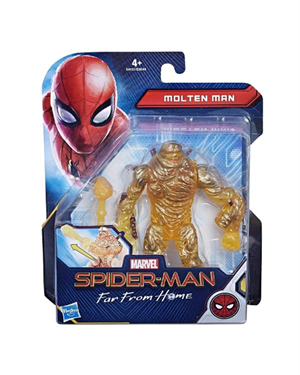Spiderman Far From Home Molten Man Figür 15cm
