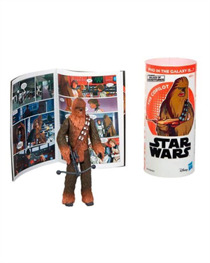 Star Wars Galaxy Of Adventures Figür Chewbacca E5651