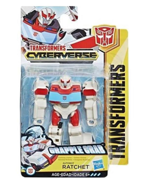 Transformers Cyberverse Ratchet Mini Figür E3634